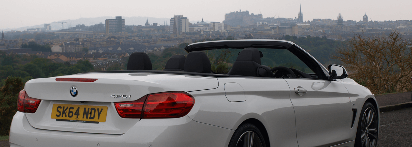 BMW hire with Edinburgh Car Rental