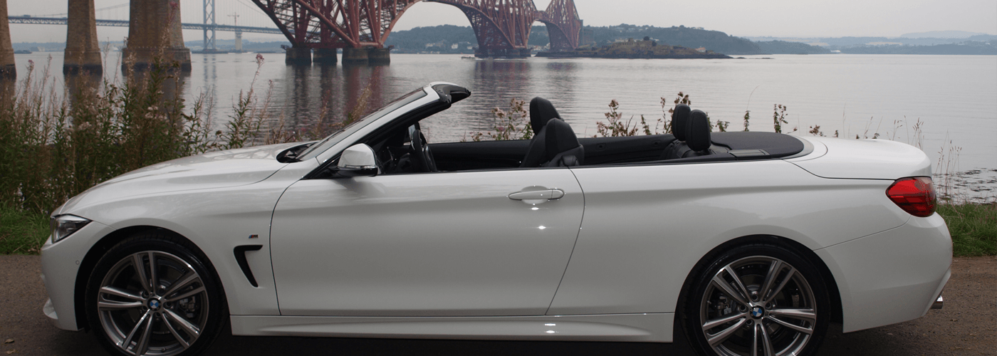 Convertible car hire with Edinburgh Car Rental