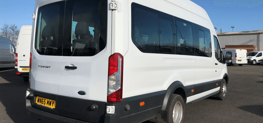Minibus hire from Edinburgh Car Rental